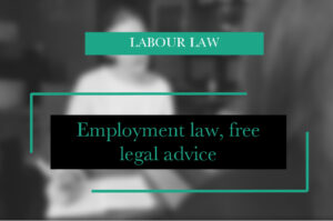 Employment law, free legal advice Legal advice clinic in Amsterdam Free legal advice employment law, consultation